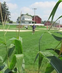 Tom at Field of Dreams 1