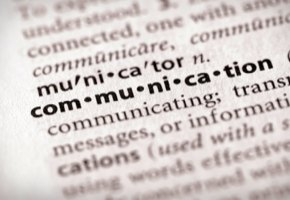 Communication as a Dictionary Entry