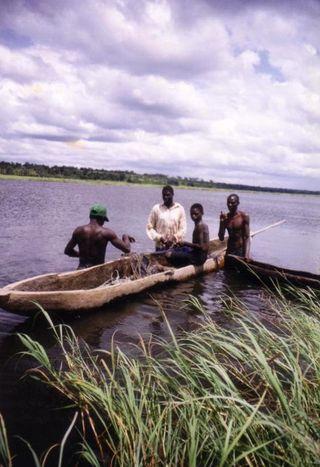 Tswana bushmen